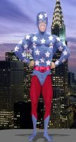 The JSA Star-Spangled Kid by DaswookofHeromorph