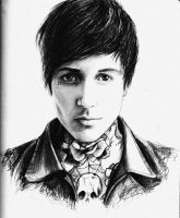 Oliver Sykes by phantosmagoria