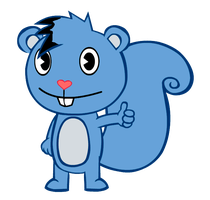 [GIFT] Swirly the Squirrel by S4R3V0L9TN9TY4