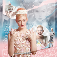 Png pack #63 Elle Fanning by blondeDS