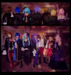 Vocaloid Cafe by electric-lady