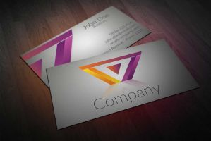 Business Card Design for Construction Company by BorceMarkoski