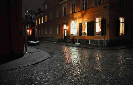 Rain on St.Johannesgatan by Jackknife-Jerry