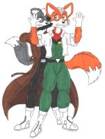 Fox Hostage at Gunpoint by fox-mccloud