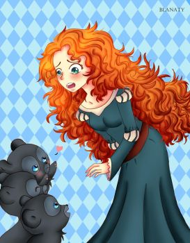 Brave - Brother Bear by Blanaty