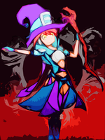 Apprentice Witch Lina by soortes