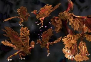 Spore Archaeopteryx by soupfamily