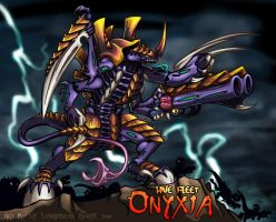 Hive Fleet Onyxia - Tyrant by lizardbeth