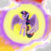 Princess Twilight Sparkle by VittorioNobile