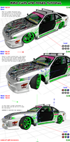 MMD Tutorial on posing a model inside a car by Trackdancer