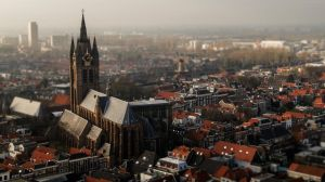 The little town of Delft by mannynyf