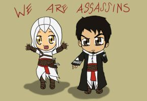 We are Assassins by jassessino