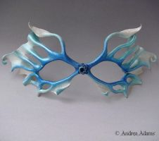 Filigree Leather Fairy Mask by Beadmask