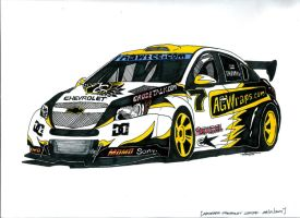 AGWraps Chevy Cruze by JTIllustrations
