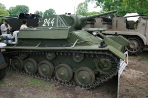 Tank T-70 by boryss26