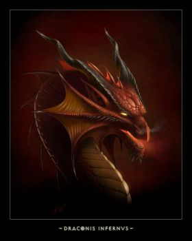 DRACONIS INFERNVS by Deligaris