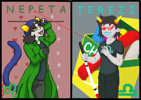 Homestuck Con Badges by BREAD-the-PIRATE