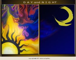 ---Day and Night--- by meenajolly