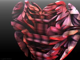 Rugged Heart by GraphicLia
