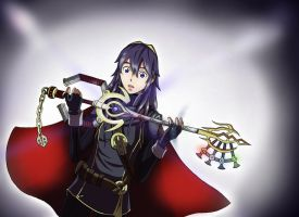 Lucina's Keyblade: Royal Lineage by TyberZann2814