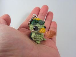 Tiny Kappa on a Keychain by altearithe