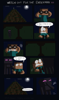 Watch out for the Enderman by Domestic-hedgehog