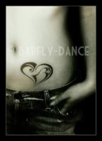 Tattoo-Heart by BarflyDance