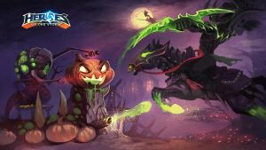 Heroes of the Storm Halloween by Worgen-R