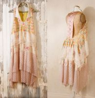Bohemian wedding dress 1920s wedding dress by Mynoush