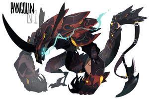 Mecha Adopt Auction: Pangolin 01 (closed) by faios