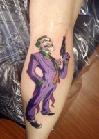 Joker Tattoo by BodyArtbyElf