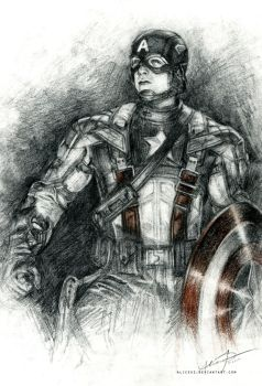 Captain America by alicexz