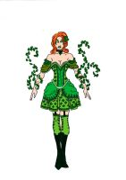 Poison Ivy ~ Victorian Era by Comicbookguy54321