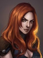 Commission: Sihdiel by Astri-Lohne