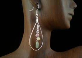 Spring Earrings by JanecShannon