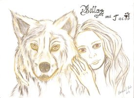 Jacob and Bella by Ilmani