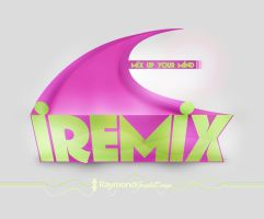 iRemix logo with Photoshop! by RaymondGD