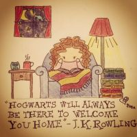 Hogwart Will Always Be There To Welcome You Home by rebeltreble