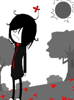 Flowerbed Of Blood by Leaved