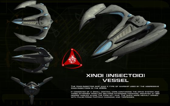 Xindi Insectoid starship ortho by unusualsuspex