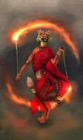 Ravishakra Firedancer by Swietopelk