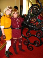 Yellow and Red Seras Victoria by artangel85