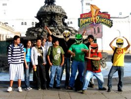 Mighty Morphin Power Rangerzzz by ShadCarlos