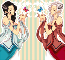 My Fair Ladies by AmeNoHana
