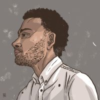 Taylor McFerrin by tedikuma