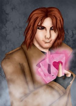 X-Men's Gambit aka Remy LeBeau by comicalclare