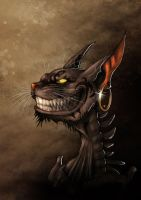 Alice madness returns - Cheshire Grin by fiszike