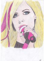 Avril Lavigne. by angeltelimi23