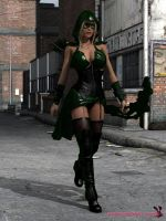 Green Arrow..nette ? by mrbunnyart
