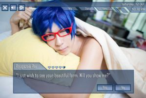 Dating sims Rei by Kurayamiii